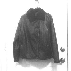 LAUREN RALPH LAUREN Large Moto Jacket
